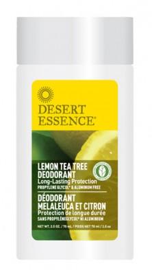 Lemon Tea Tree Deodorant 75ml