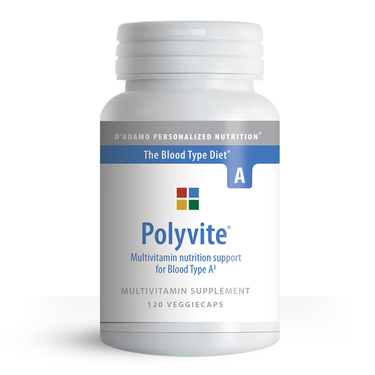 Polyvite Multivitamin Support for Type A 120's