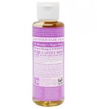 Organic Lavender Castile Liquid Soap 118ml