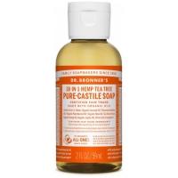 18-in-1 Hemp Tea Tree Pure-Castile Liquid Soap 60ml