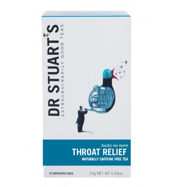 Throat Relief 15 Enveloped Bags