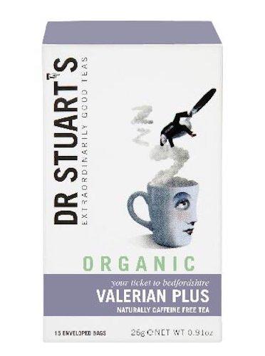 Organic Valerian Plus 15 Enveloped Bags