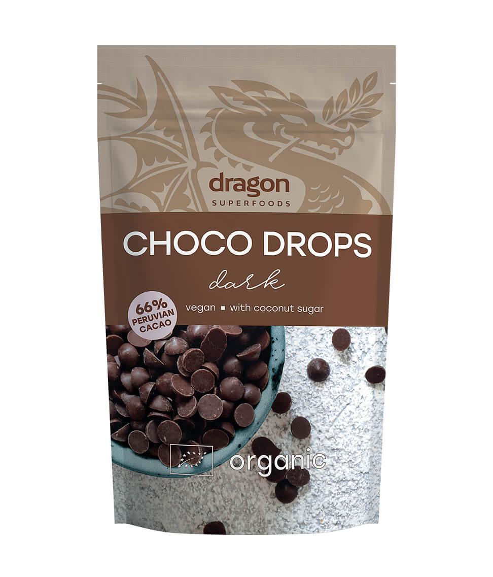 Dark Choco Drops Organic 250g