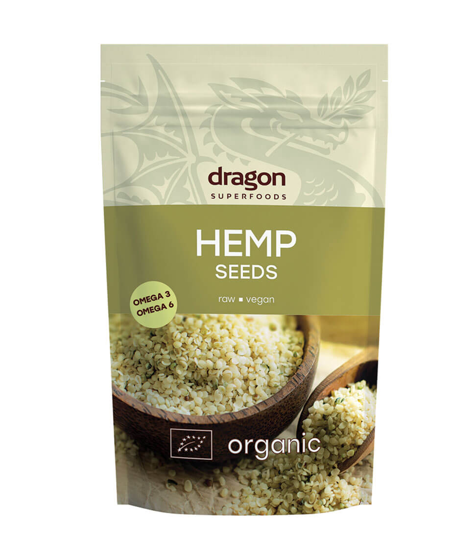 Hemp Seeds Organic 200g