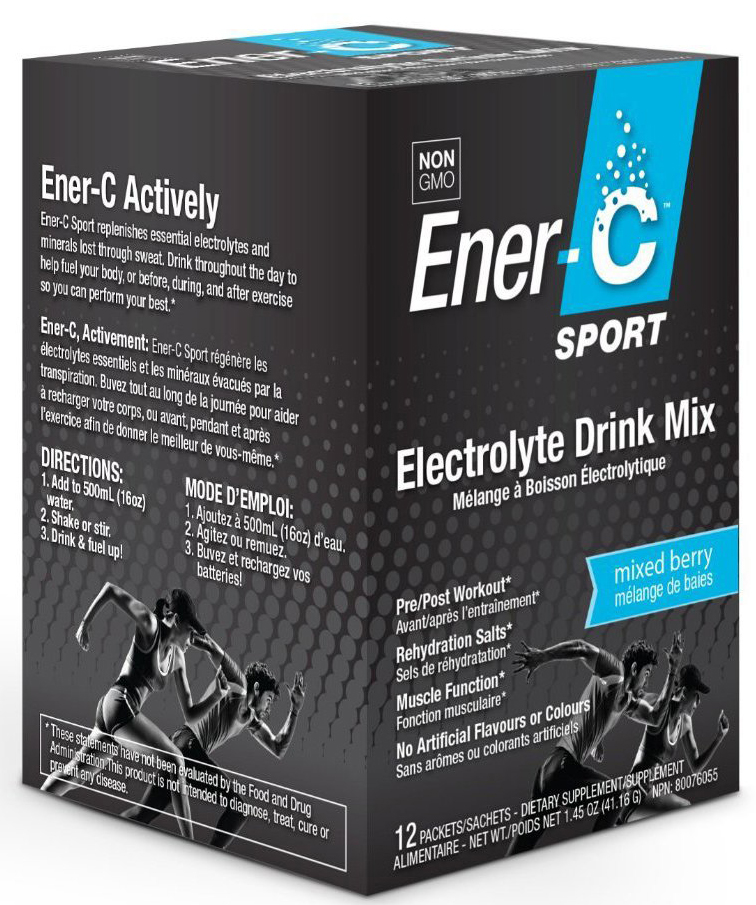 Ener-C Electrolyte Sport Sachets (Currently Unavailable)