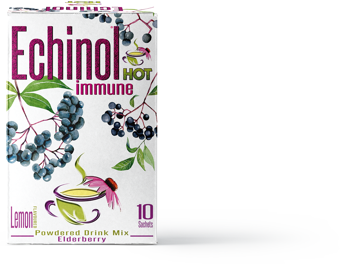 Hot Immune Drink Mix Lemon with Elderberry 10's