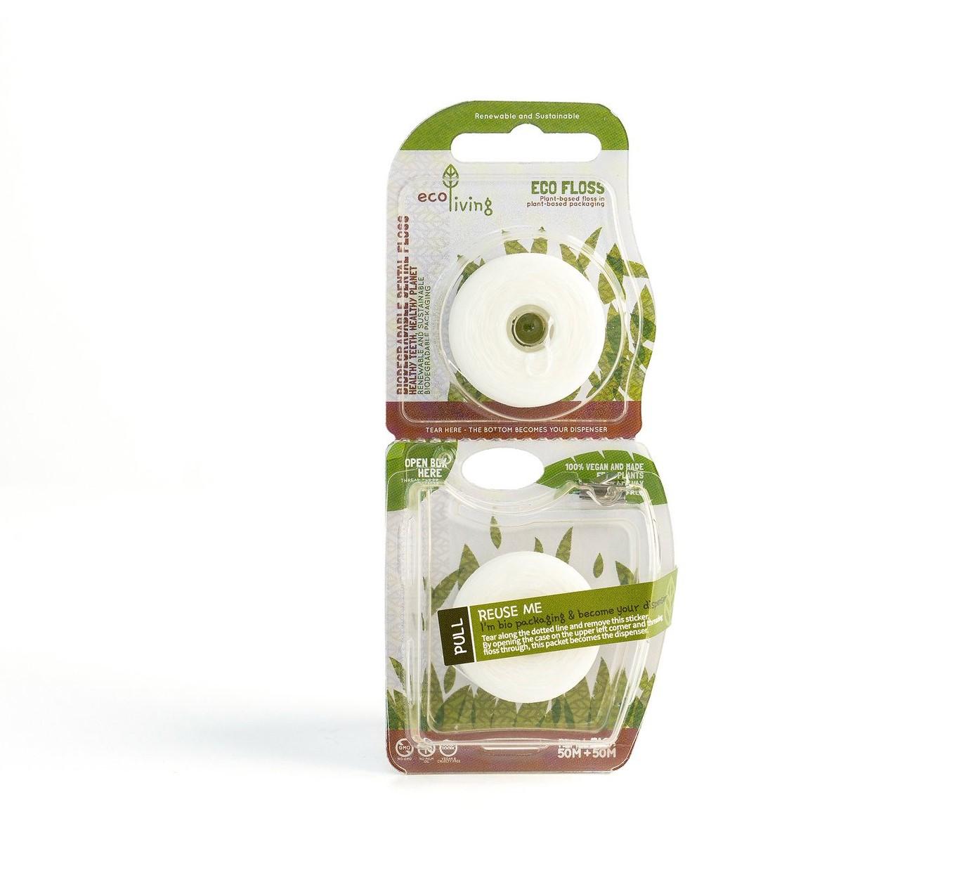 Biodegradable Dental Floss (2 Pack)