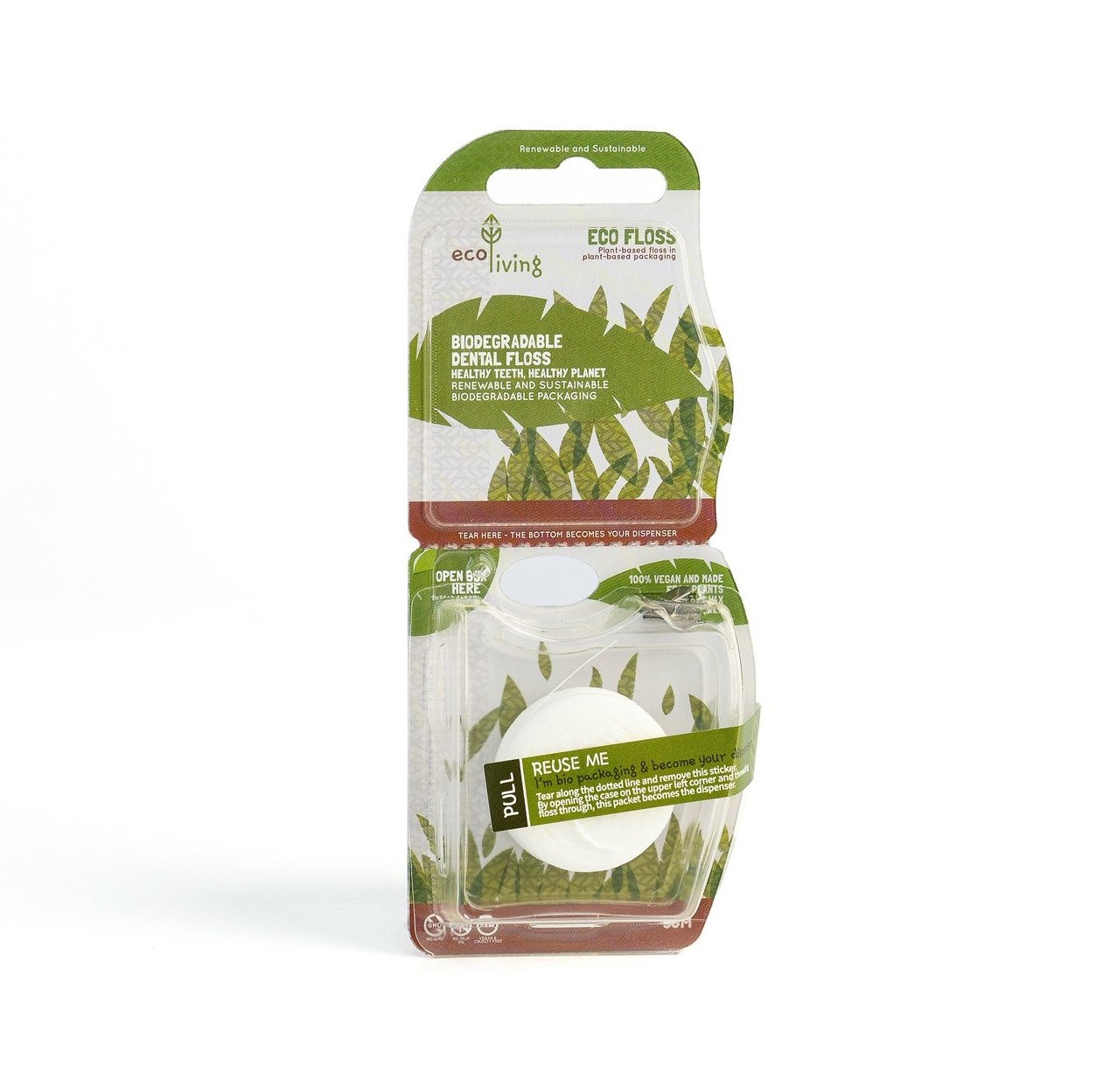 Biodegradable Dental Floss (Single)