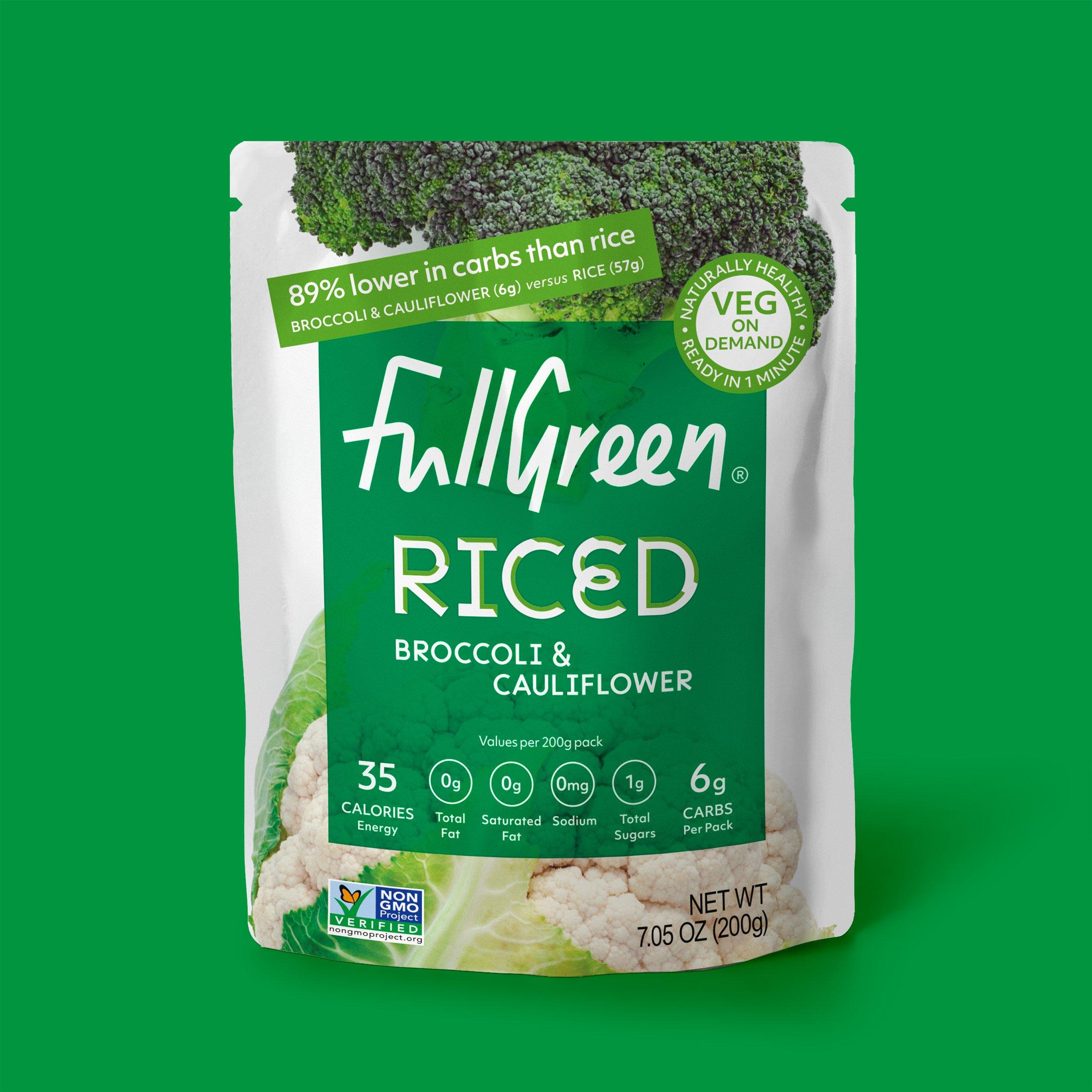 Riced Broccoli & Cauliflower 200g