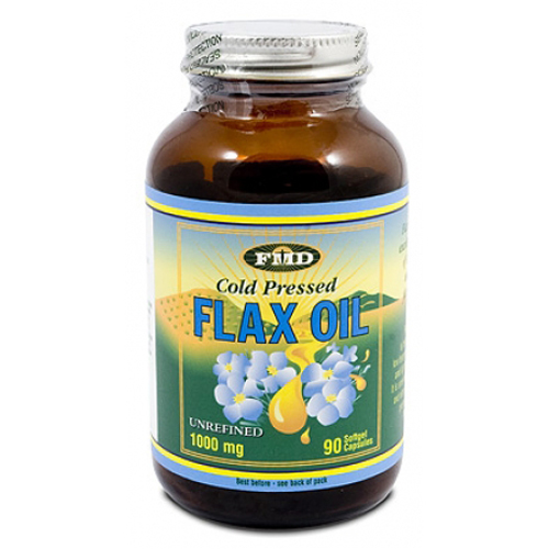 Cold Pressed Flax Oil 1000mg 90's (Flax-O-Mega)