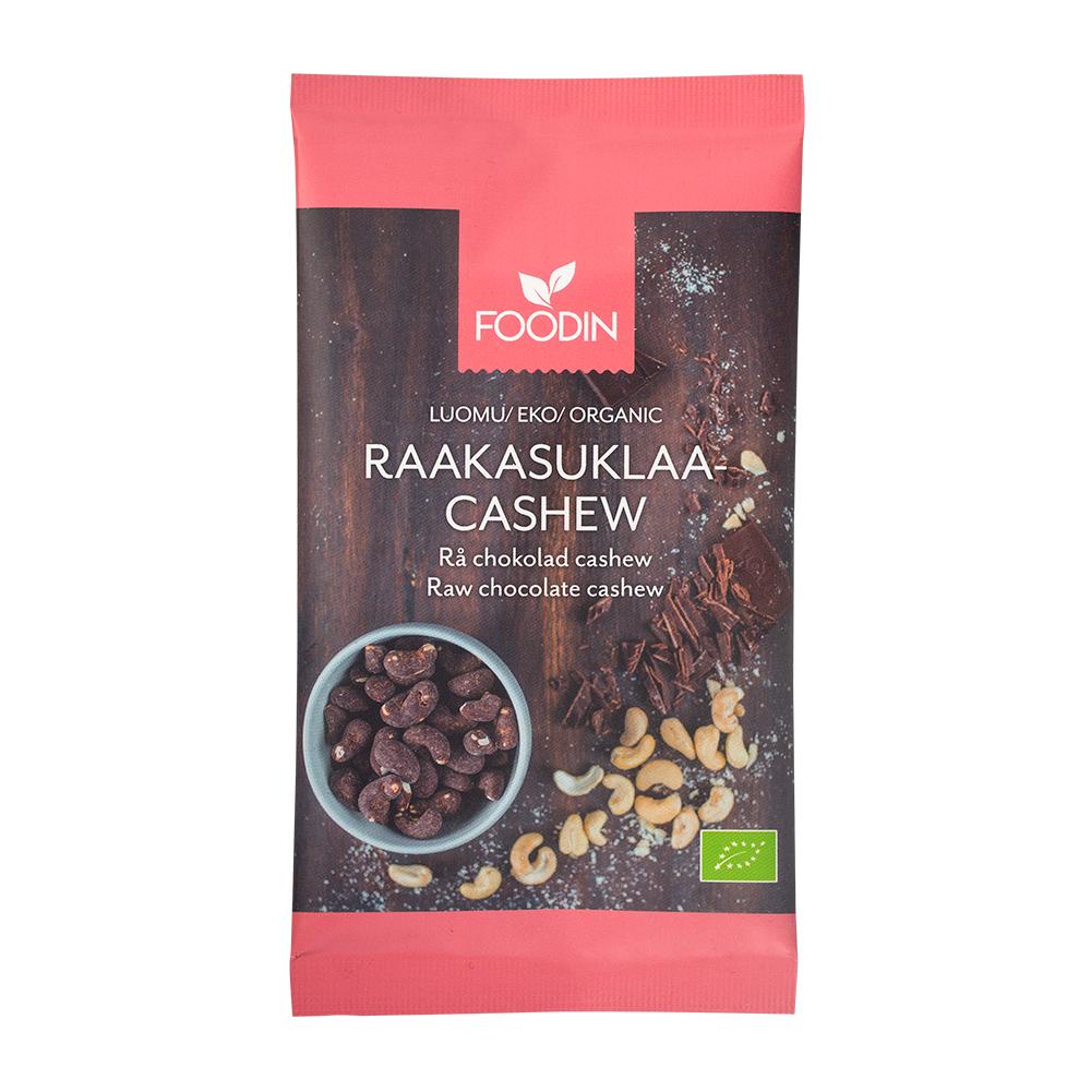 Organic Raw Chocolate Cashew 60g