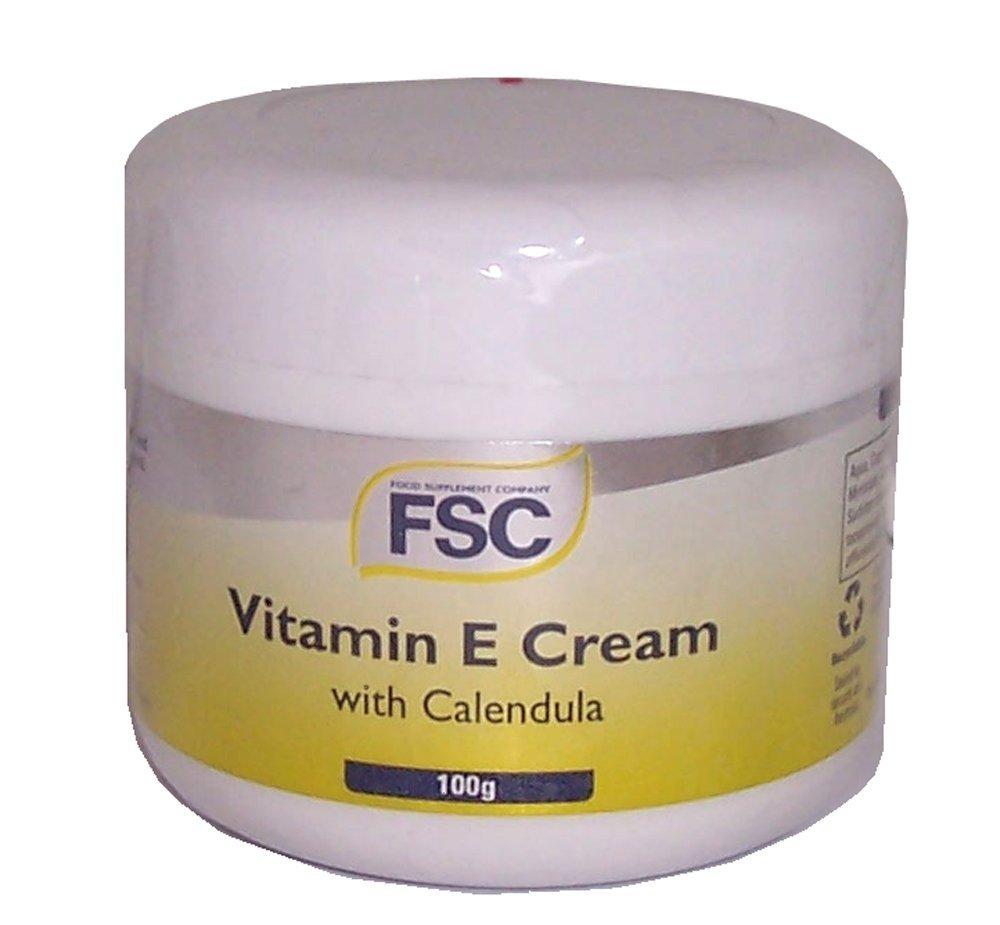 Vitamin E Cream and Calendula 100g