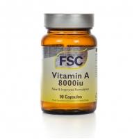 Vitamin A 8000iu 90's