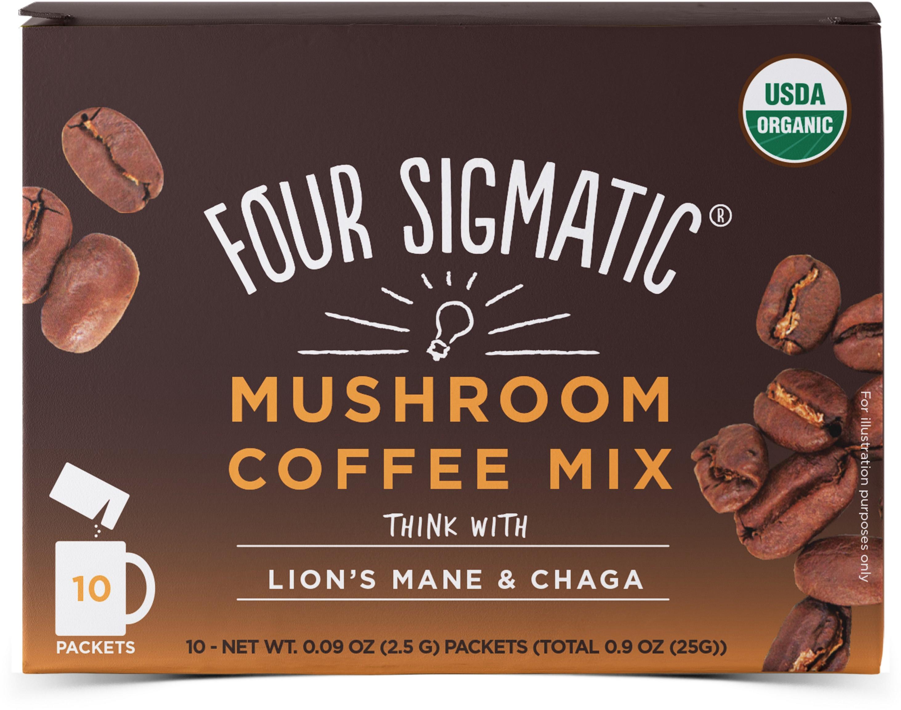 Mushroom Coffee Mix Think With Lion's Mane 10 x 2.5g