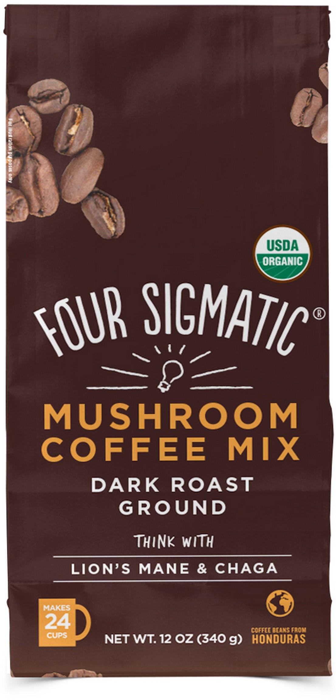 Mushroom Ground Coffee Think With Lion's Mane 340g