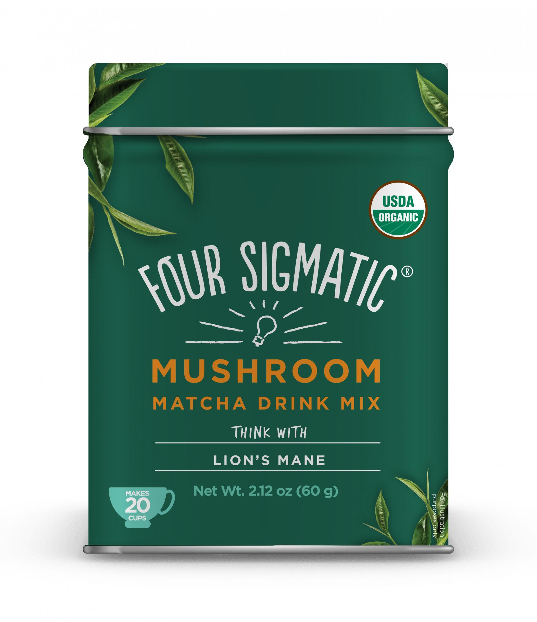 Matcha Latte Mix Think With Lion's Mane 60g (Currently Unavailable)