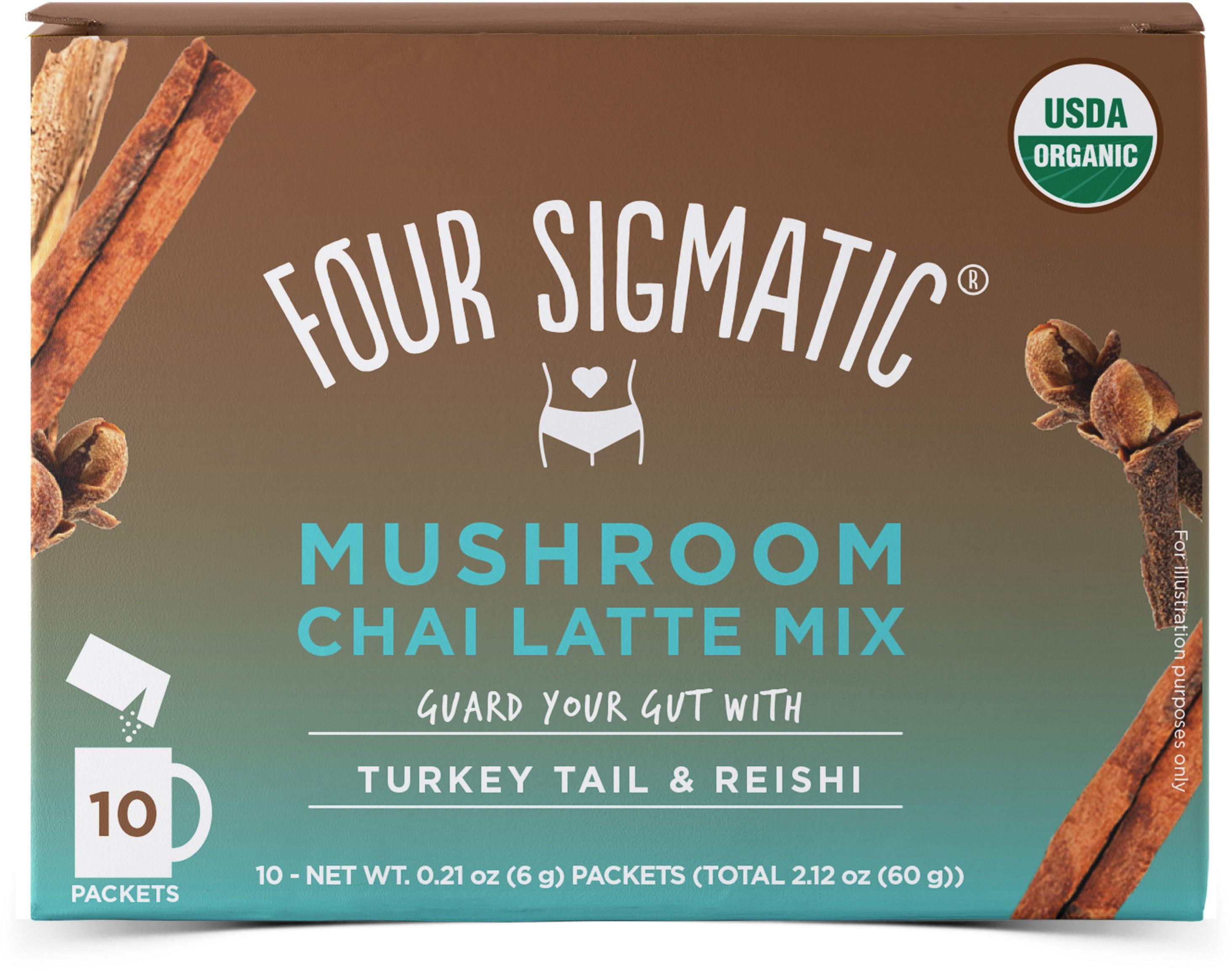Chai Latte Mix Chilli With Reishi 10 x 6g