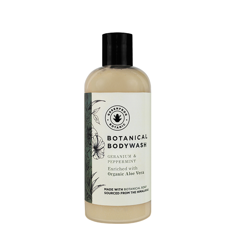 Botanical Bodywash Geranium & Peppermint 300ml