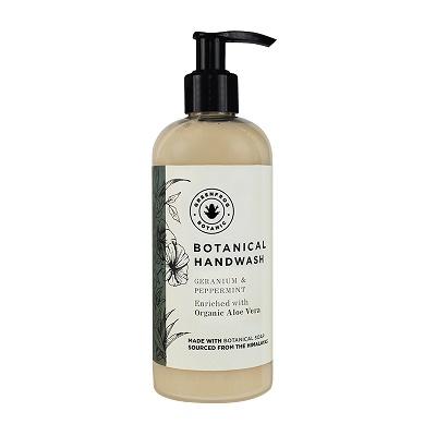 Botanical Handwash Geranium & Peppermint 290ml