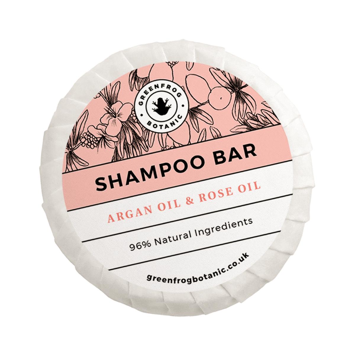 Shampoo Bar Argan Oil & Rose Oil 50g