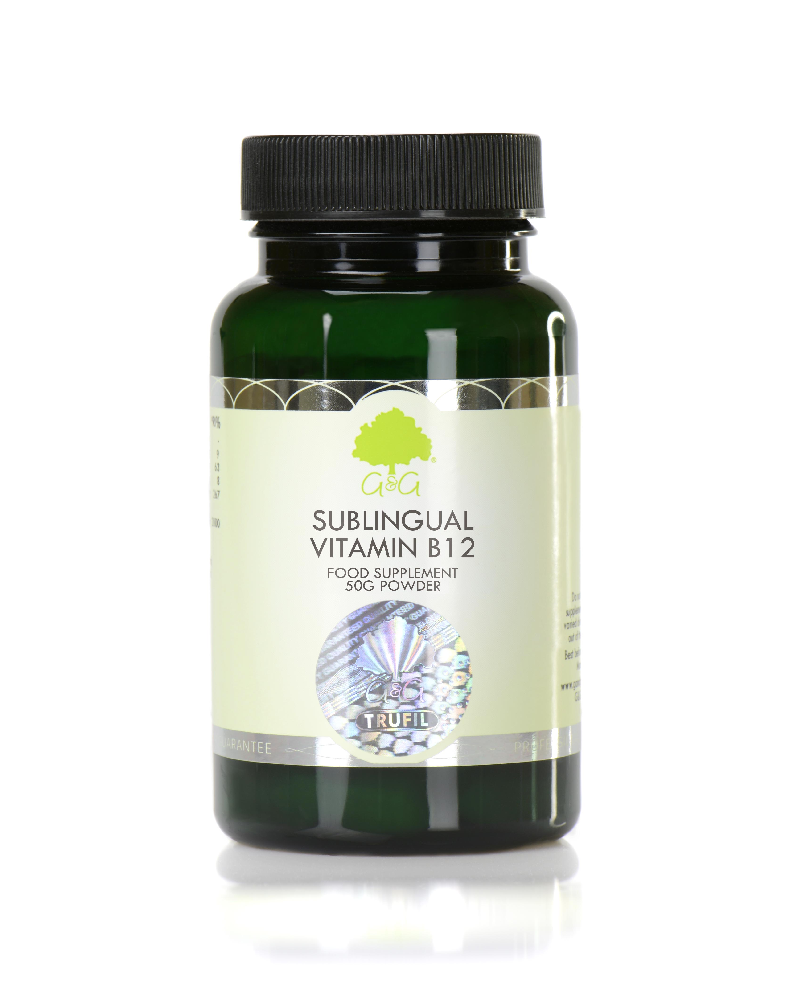 Sublingual Vitamin B12 50g