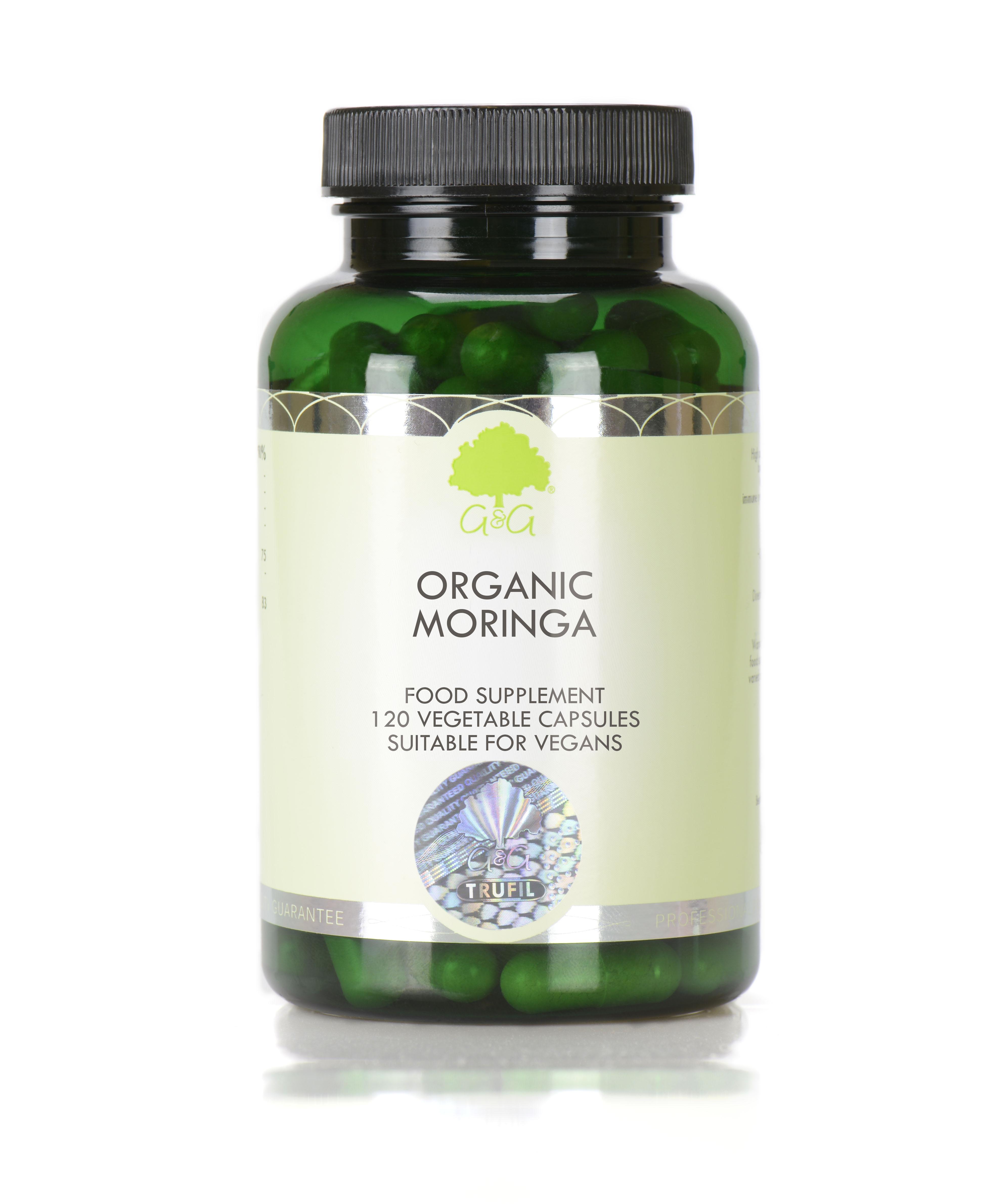 Organic Moringa 120's