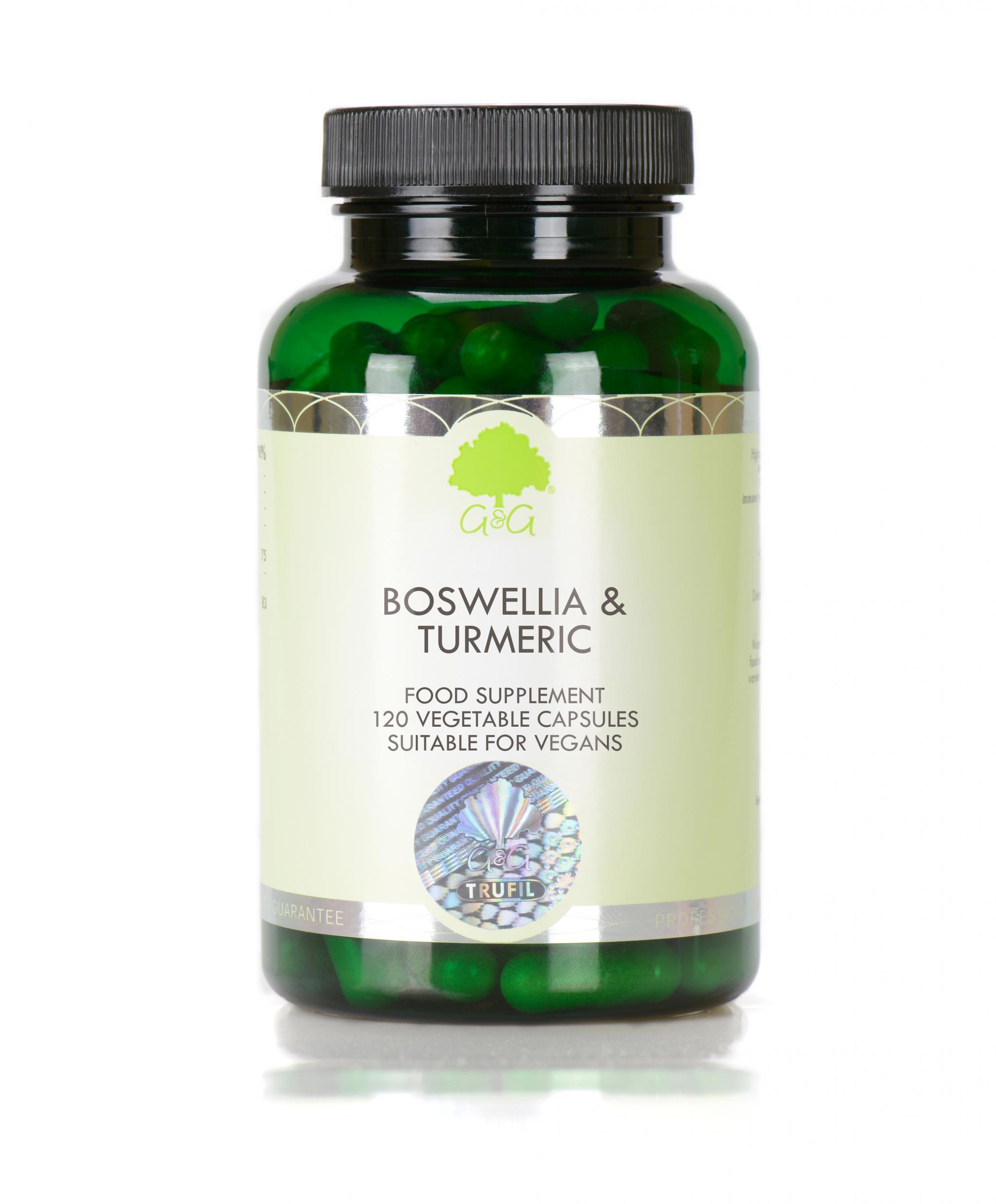 Boswellia & Turmeric 90's