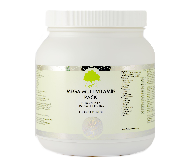 Mega Multivitamin Pack 28 Day Supply