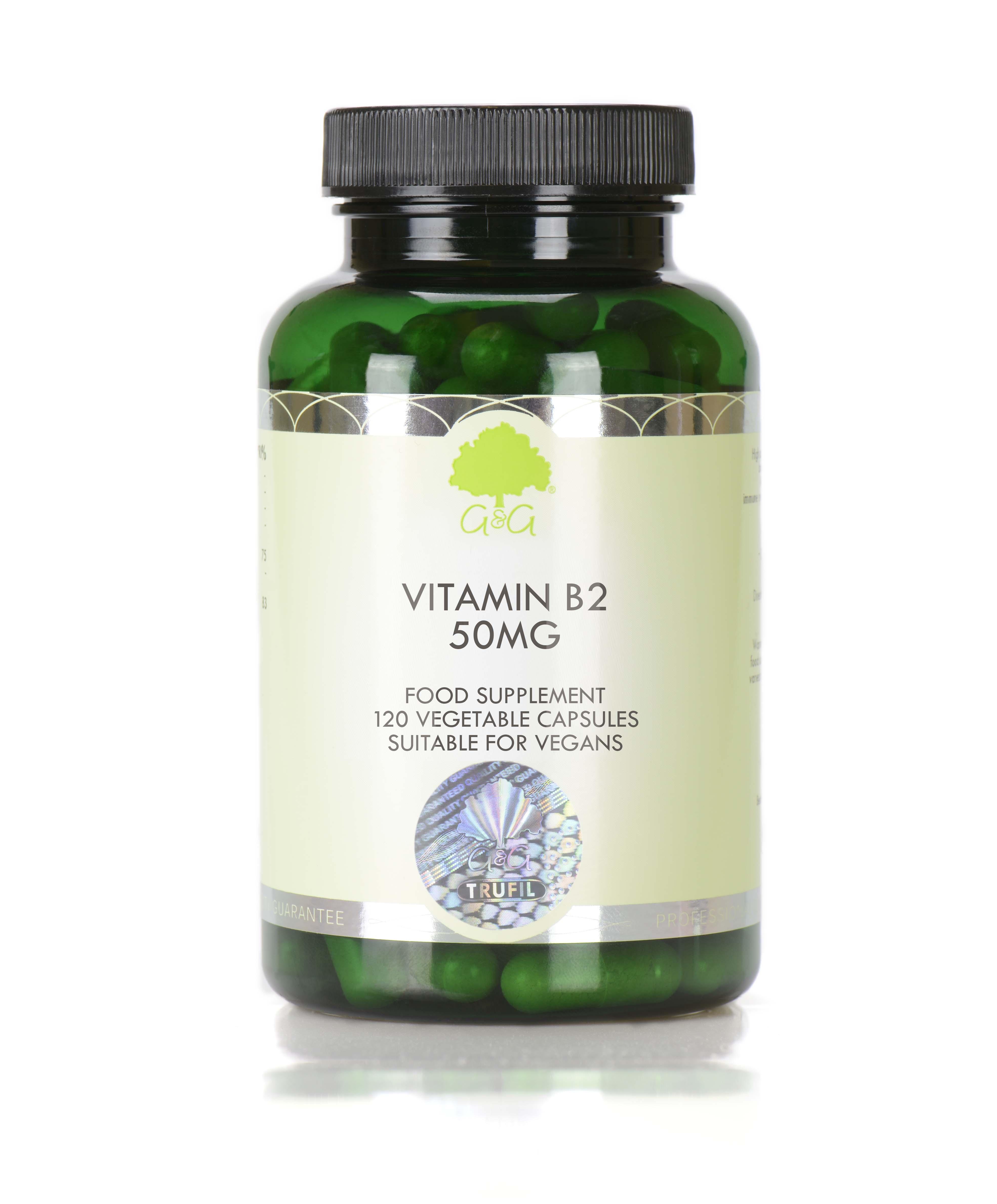 Vitamin B2 50mg 120's