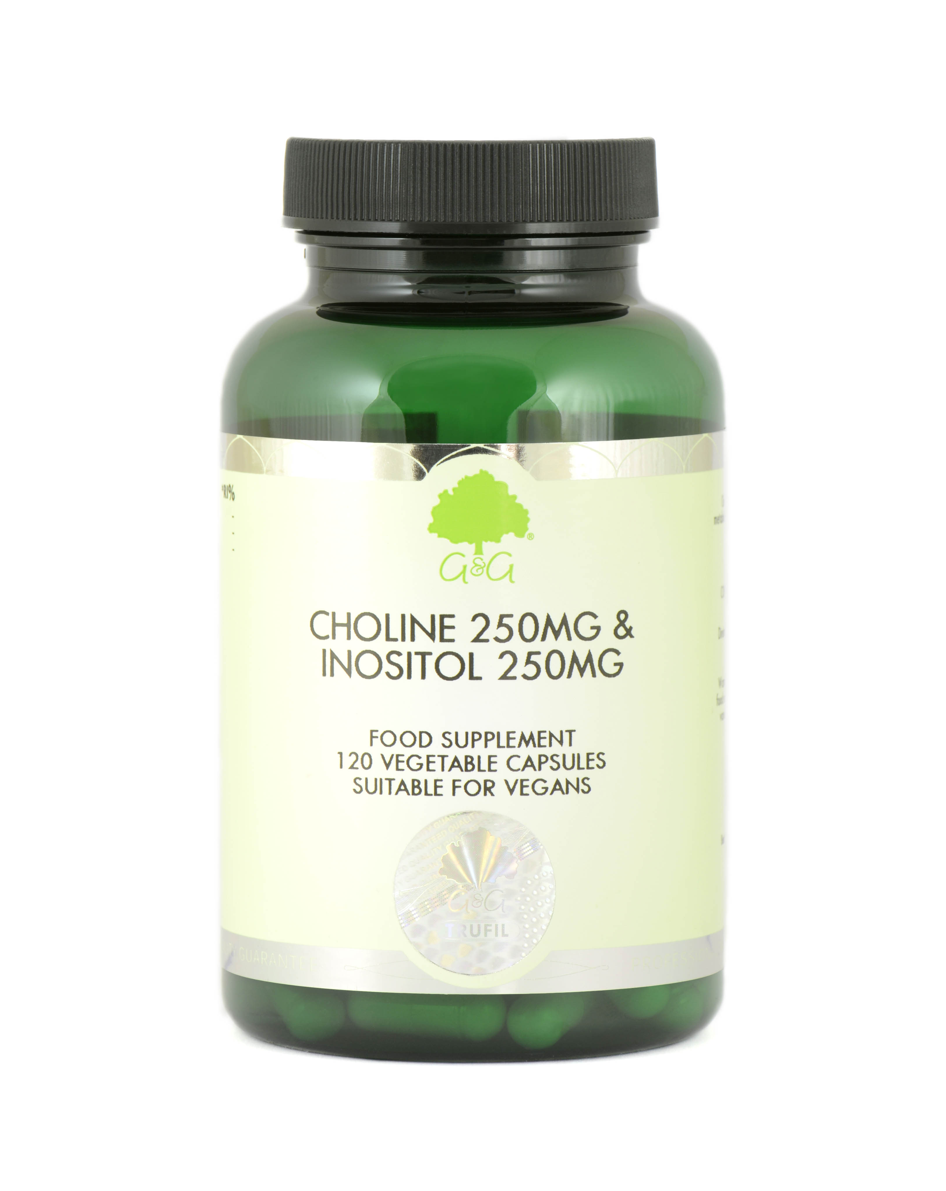 Choline 250mg & Inositol 250mg 120's