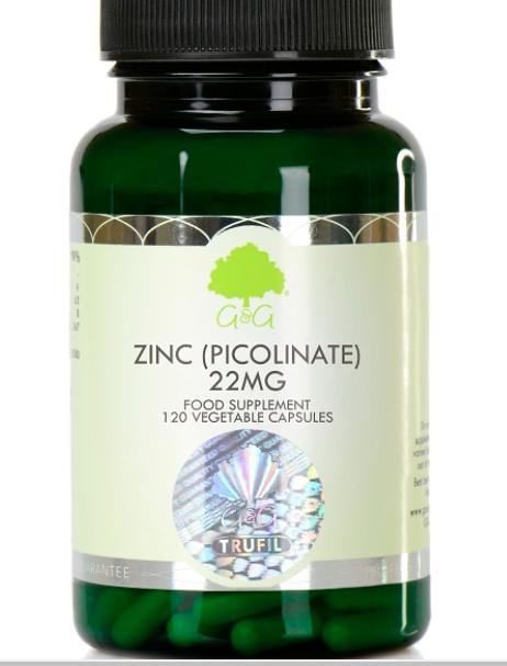 Zinc 22mg 120's