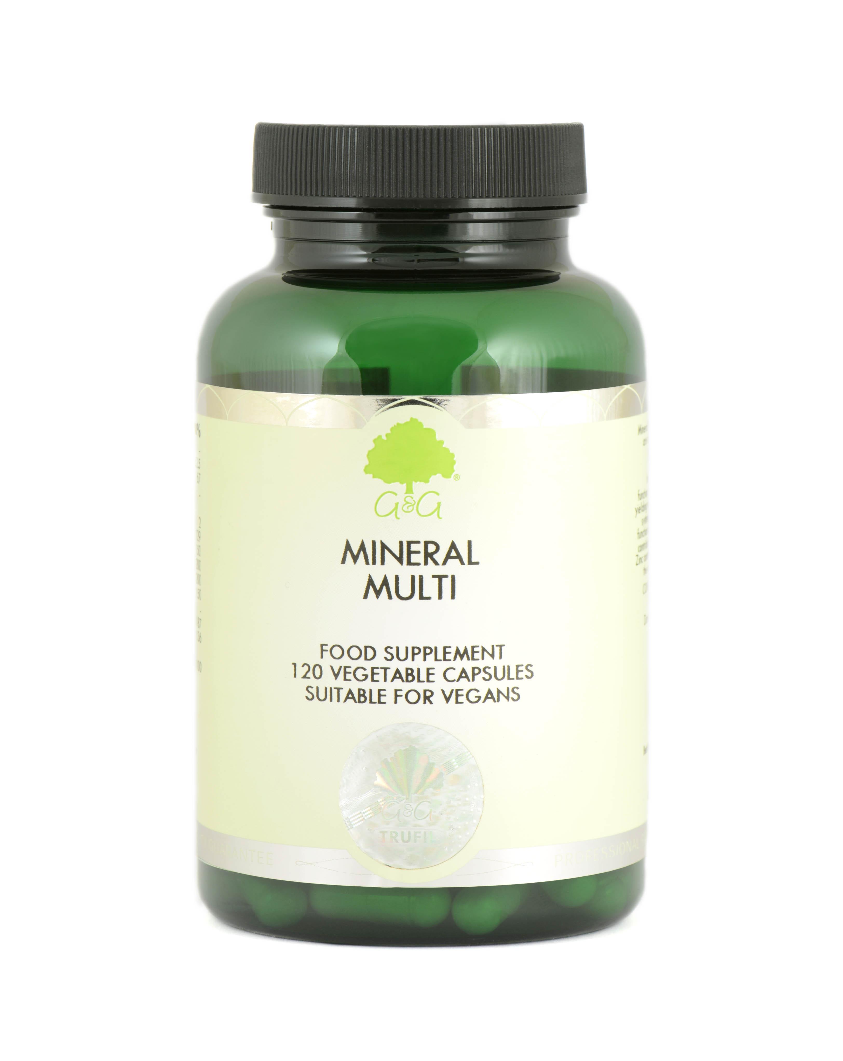 Mineral Multi 120's