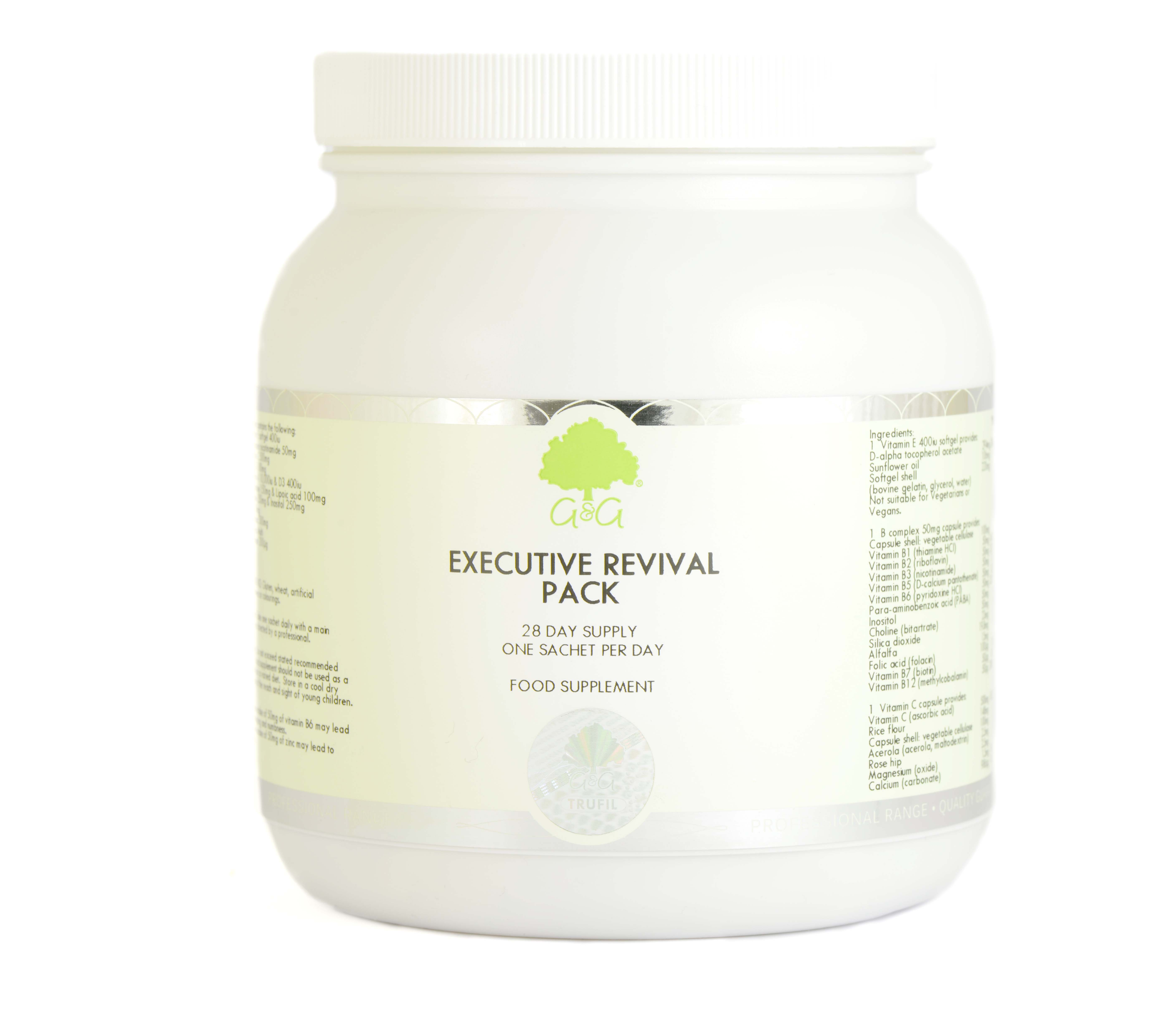 Executive Revival Pack 28 Day Supply