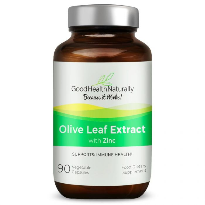 Olive Leaf Extract with Zinc 90's