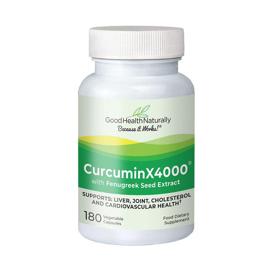 CurcuminX4000 With Fenugreek Seed Extract 180's