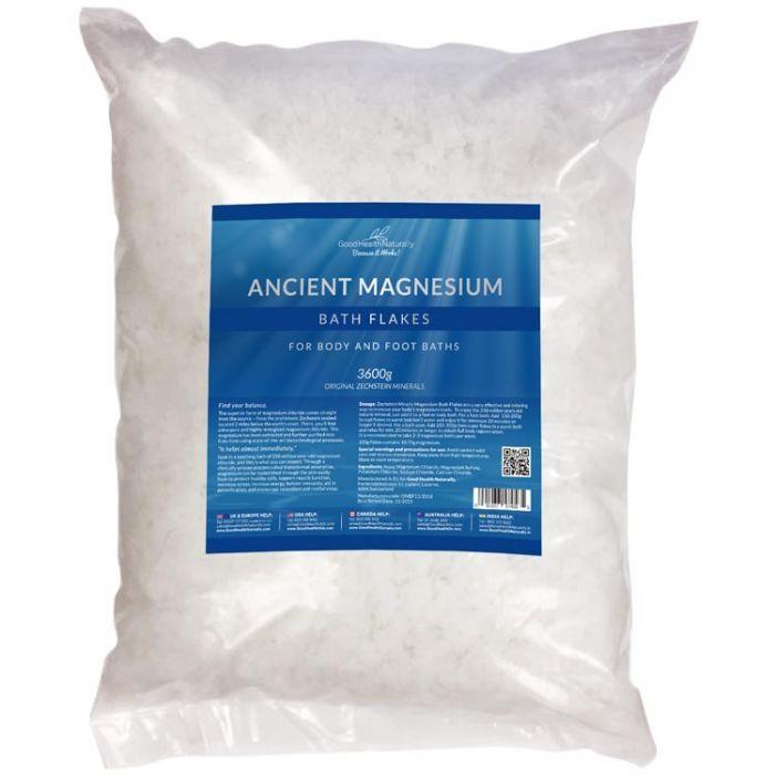 Natural Magnesium Bath Flakes 3.6kg