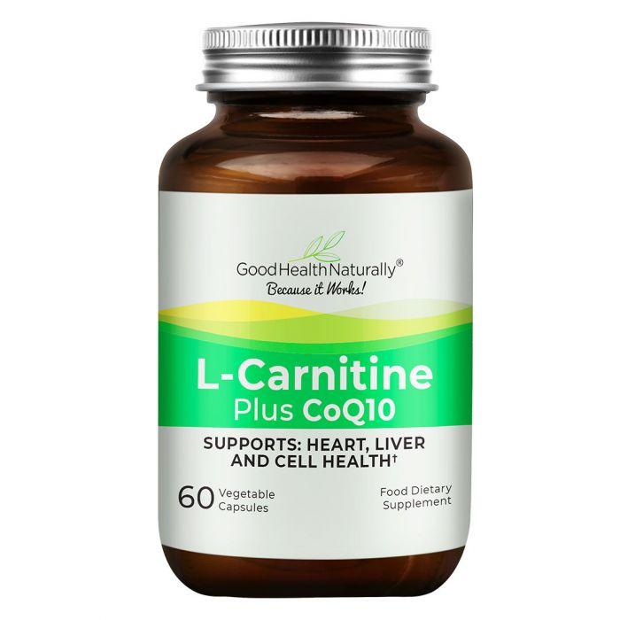 L-Carnitine Plus CoQ10 60's