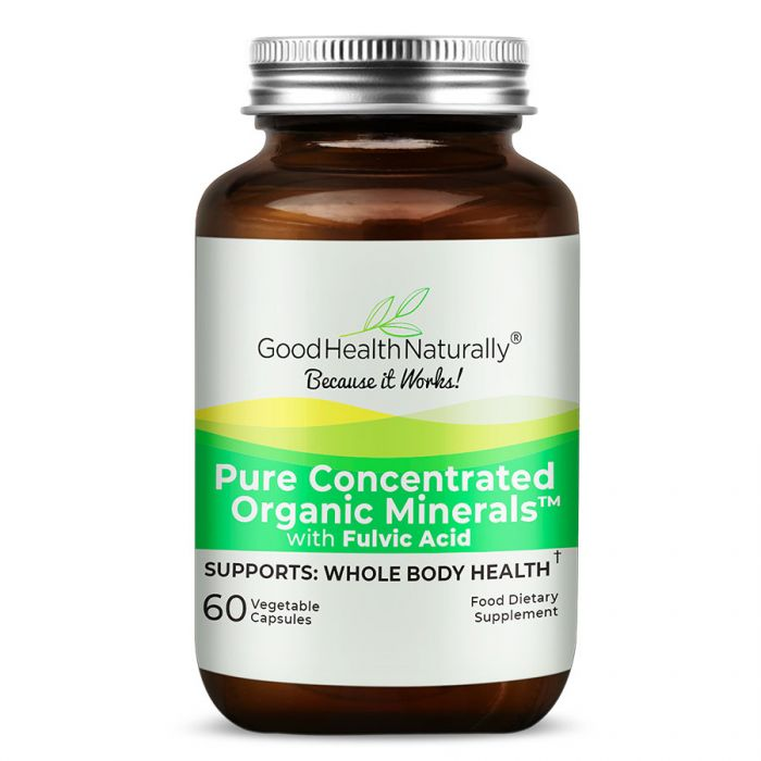 Pure Concentrated Organic Minerals 60's