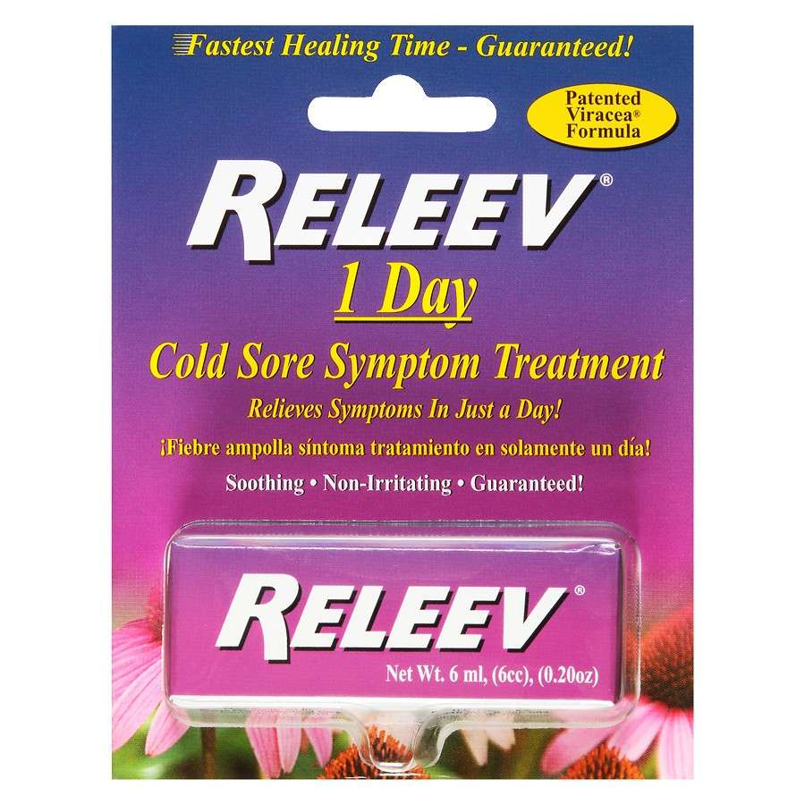 RELEEV Cold Sore Symptom Treatment 6ml