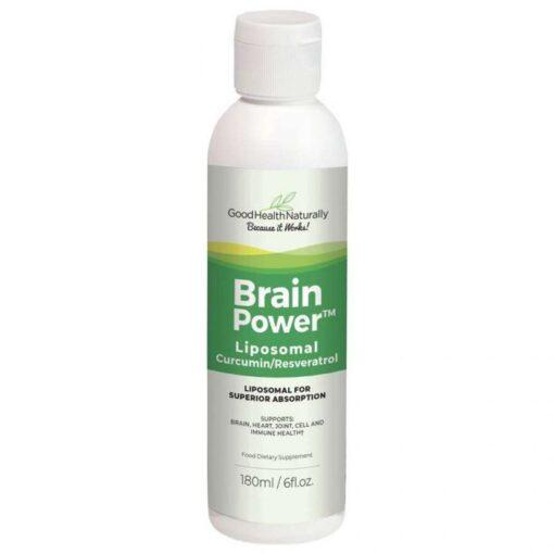 BRAIN Power Liposomal Curcumin Resveratrol 180ml