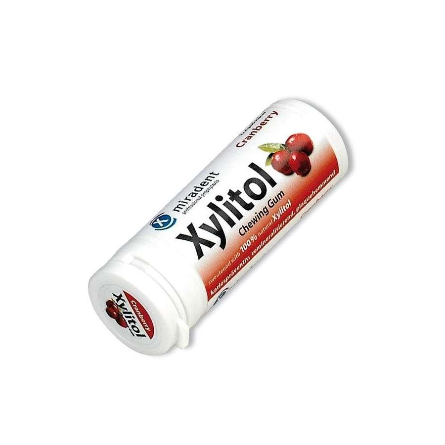 Miradent Xylitol Gum Cranberry 12 x 30's