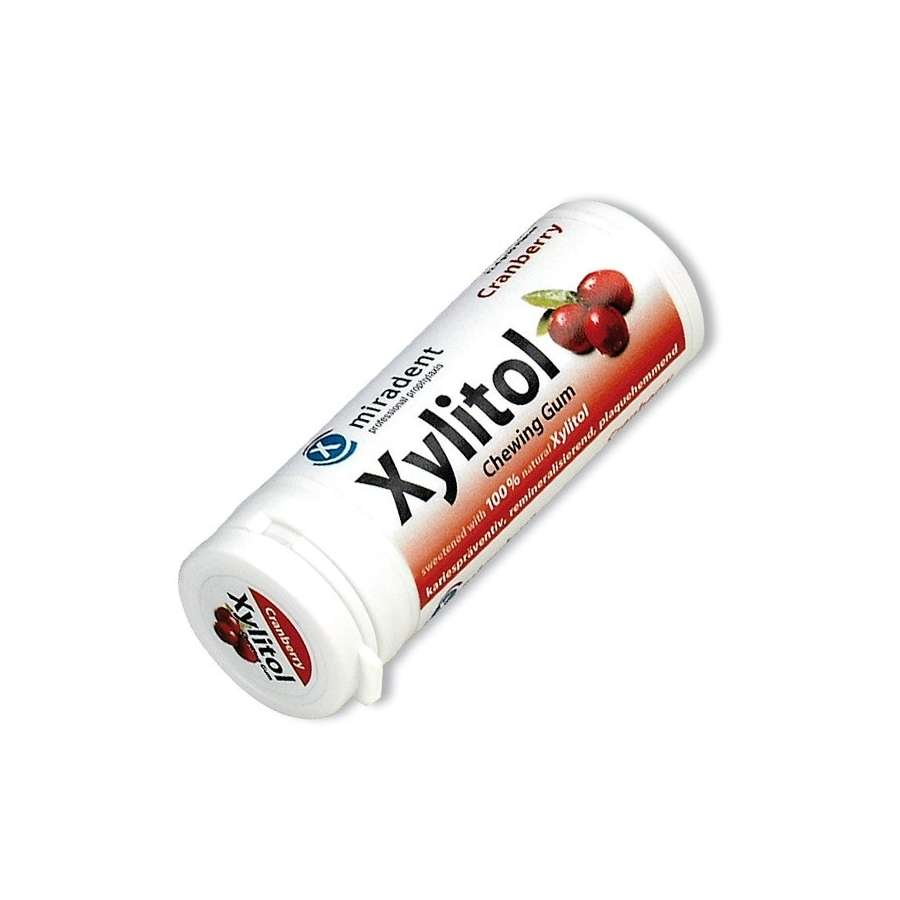 Miradent Xylitol Gum Cranberry 30's