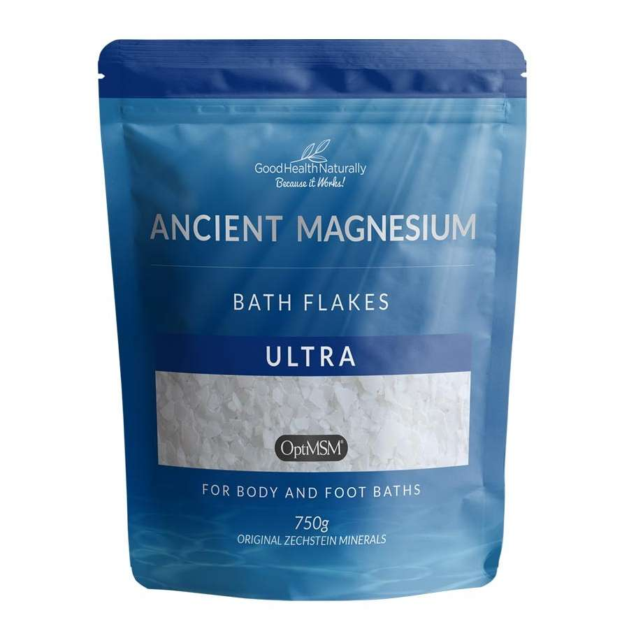 Ancient Magnesium Bath Flakes Ultra with OptiMSM 750g