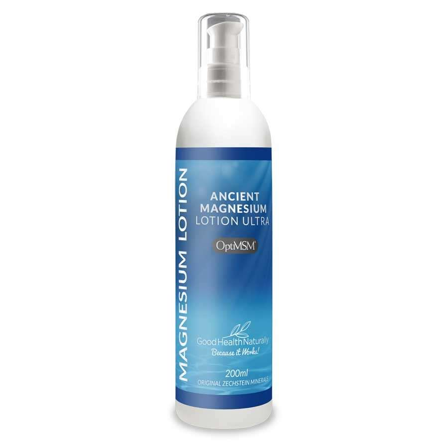 Ancient Magnesium Lotion Ultra with OptiMSM 200ml