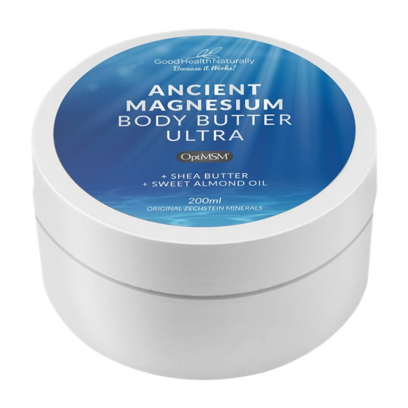 Ancient Magnesium Body Butter Ultra OptiMSM 200ml
