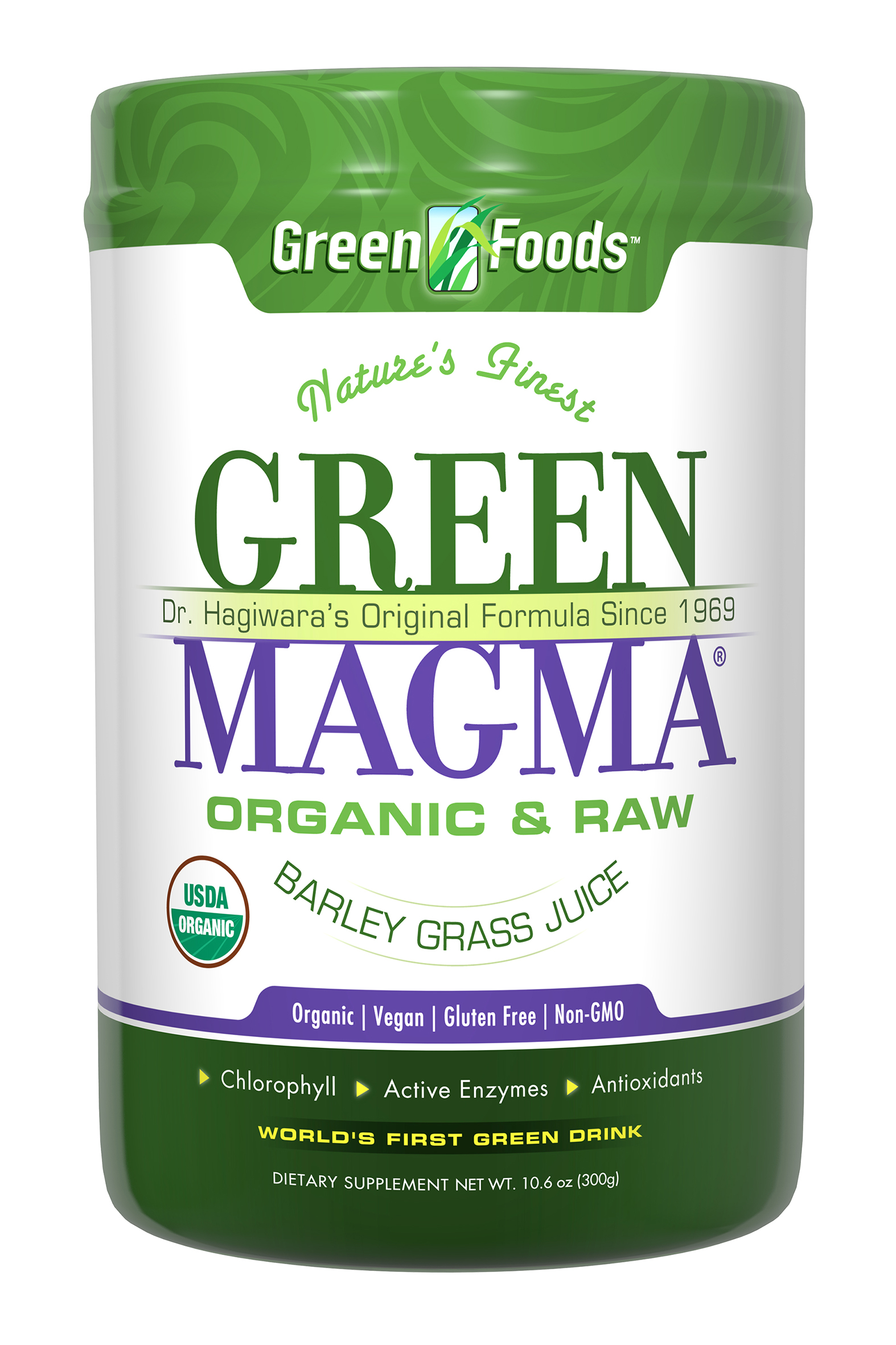 Organic Barley Grass Juice Extract Powder 300g