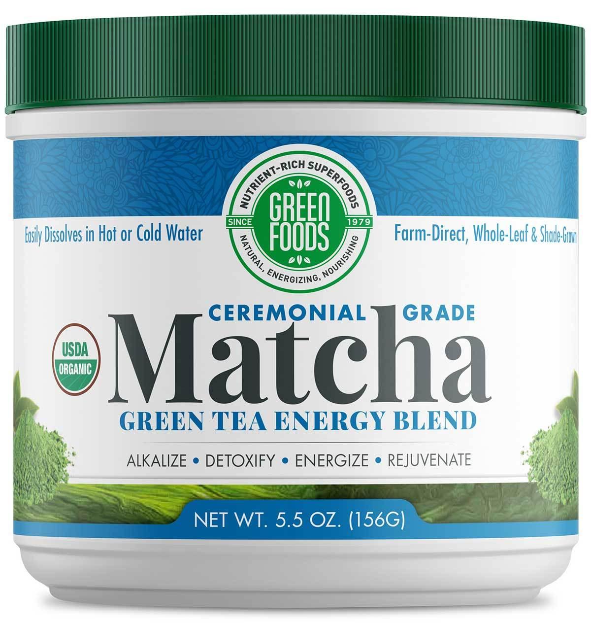 Matcha Green Tea Energy Blend 156g