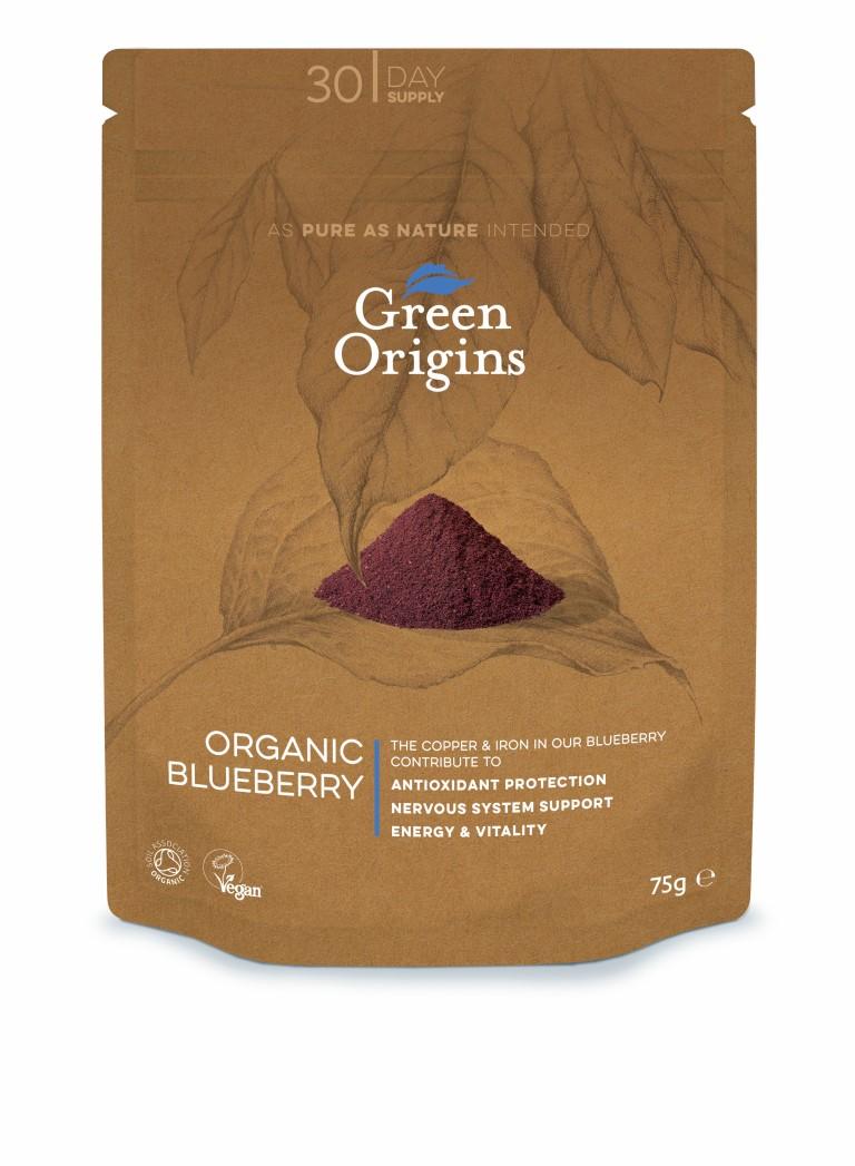 Organic Blueberry Powder (Freeze Dried) 75g