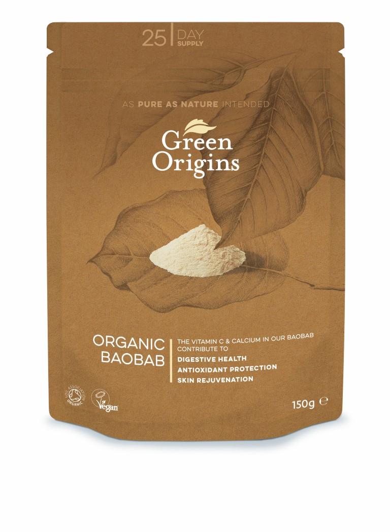 Organic Boabab Powder (Raw) 150g