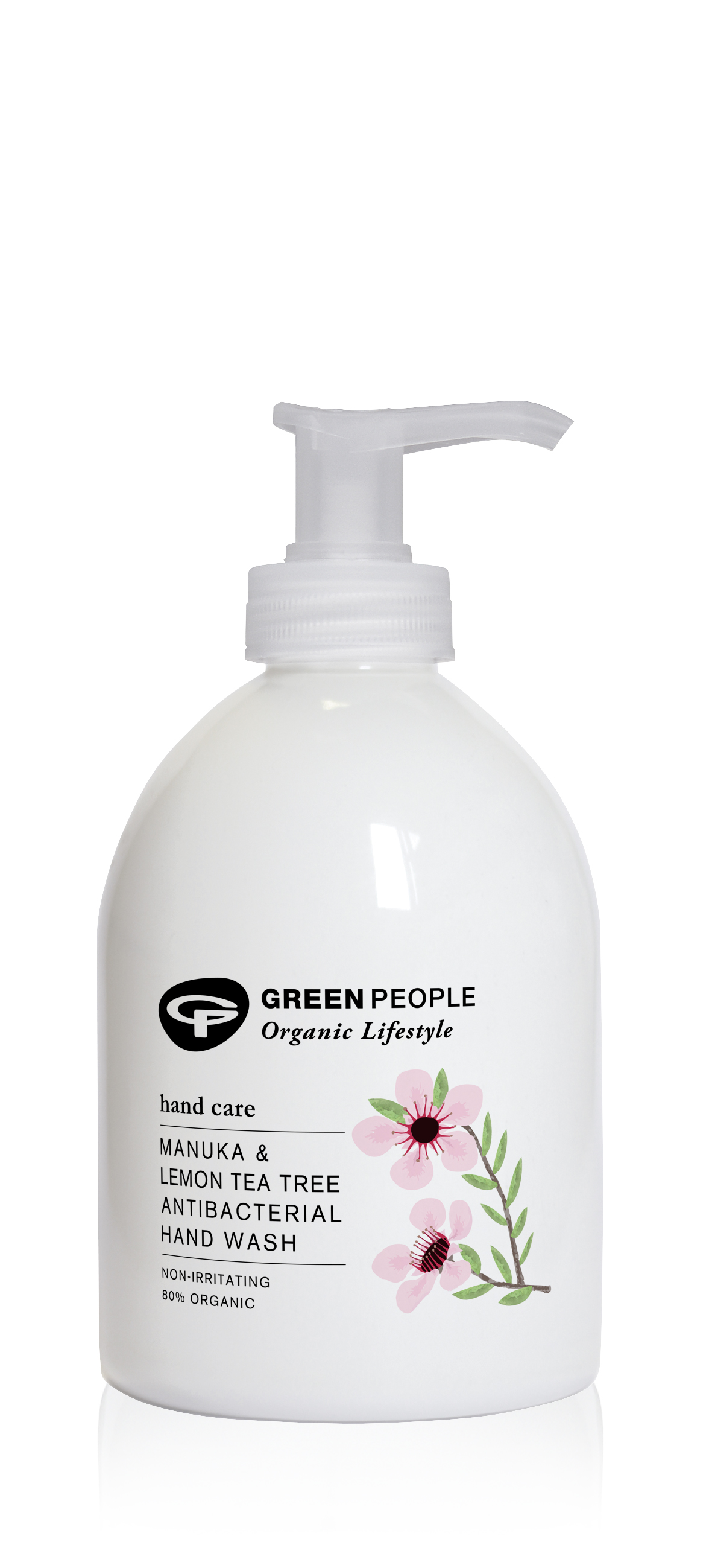 Manuka and Lemon Tea Tree Antibacterial Hand Wash 300ml